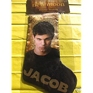 Twilight Saga NEW MOON Team, Jacob Holiday Christmas Stocking Neca Merchandise