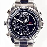 eTrader Direct - 4GB Waterproof Spy Hidden Wrist Watch Camera Video Recorder DVR Camcorder Webcam