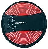EzyDog Fido Flyer Dog Disc Toy, Red