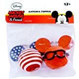 Disney Patriotic Mickey Mouse Antenna Topper Set