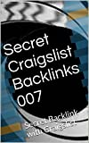 Secret Craigslist Backlinks 007: Secret Backlink with Craigslist