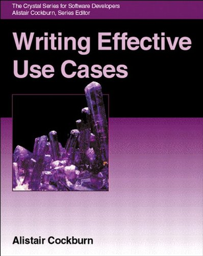 Free downloadale books Writing Effective Use Cases by Alistair Cockburn PDF MOBI