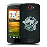 Head Case Designs Endless Moto Riding Cafe Racer Protective Snap-on Hard Back Case Cover for HTC One S