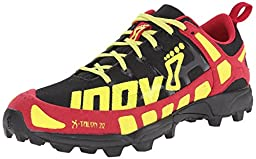 Inov-8 Women\'s X-talon 212 Trail Running Shoe, Black/Berry/Lime, 8 A US
