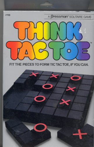 Pressman Think Tac Toe Game - 1