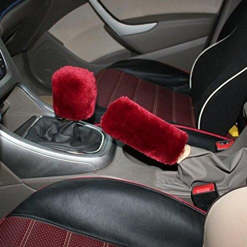 car-handbrake-cover-handbremssack-handbremsmanschette-winter-warm-faux-wolle-feststellbremse-gear-sh