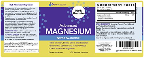 Advanced magnesium by innovixlabs highly bioavailable for Innovixlabs triple strength omega 3 fish oil
