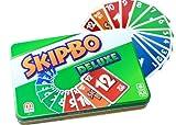 Mattel L3671 - Skip-Bo Deluxe, Kartenspiel von Mattel