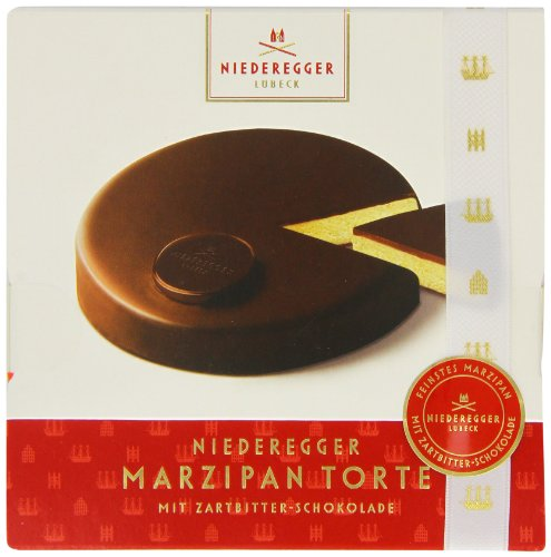 Niederegger Marzipantorte / Dark Chocolate 6.5 Oz