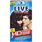 Schwarzkopf Live XXL Colour Unlimited Gloss, Damson Wine Number 888 - Pack of 3
