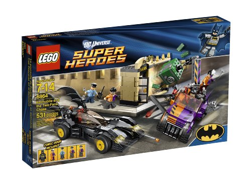 LEGO Super Heroes Batmobile and The Two-Face Chase 6864 Amazon.com