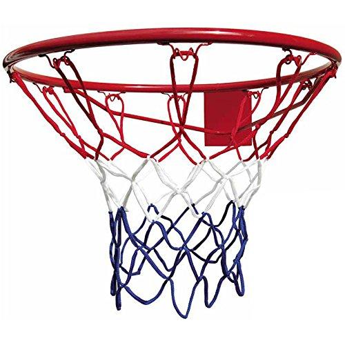 Best Sporting 64039 - Rete per canestro da basket per anello con diametro 45 cm, multicolore