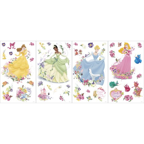 Disney Princess GAPP1759 self stick room appliques - 1