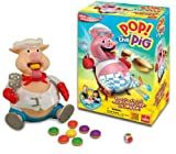 Pop the Pig Game – New and Improved – Belly-Busting Fun as You Feed Him Burgers and Watch His Belly Grow