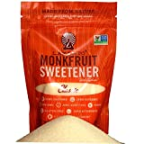 Lakanto Classic Monkfruit Natural Sweetener, 8.29 Oz (235 g), Pack of 2 (Color: White, Tamaño: 8.29 Ounce)