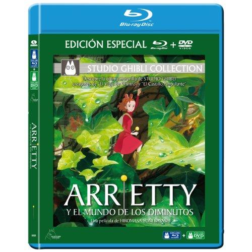 借りぐらしのアリエッティ(スペイン語)Blue-ray&DVDコンボ / Arrietti Y El Mundo De Los Diminutos (Spain) [Import]