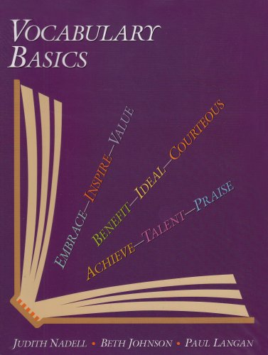 Vocabulary Basics, Instructor's Edition