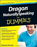 img - for Dragon NaturallySpeaking For Dummies by Stephanie Diamond (2011-10-04) book / textbook / text book