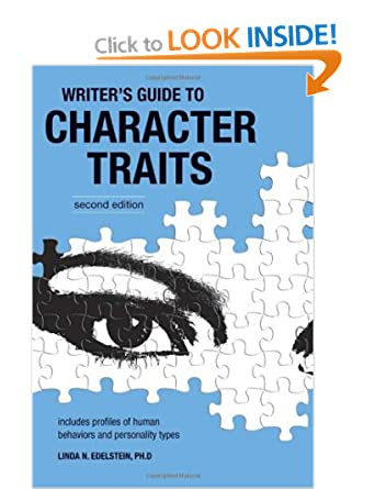 Image: Cover of Writer's Guide to Character Traits by Linda Edelstein