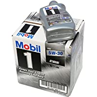 6-Pack Mobil 1 5W-30 Synthetic Motor Oil, 1 Quart (94001)