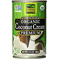 12-Pack Native Forest Organic Premium Coconut Cream (5.4 Ounce)