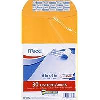 30-Count Mead Press-It Seal-It 6X9 Envelopes