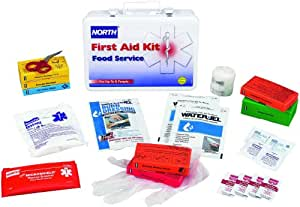 North by honeywell 35p36fs food service restaurant kit for First aid kits for restaurant kitchens