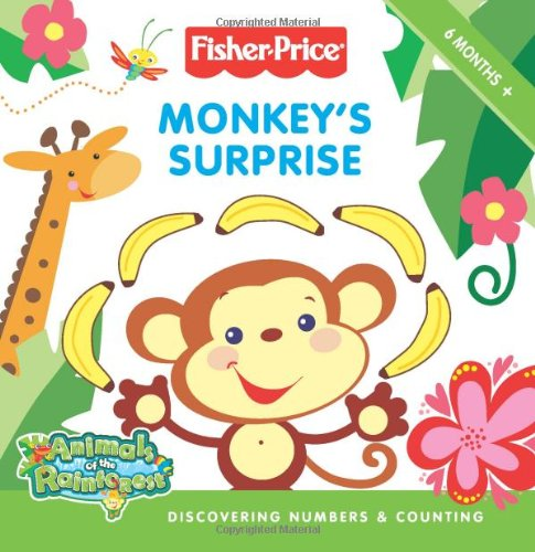 Fisher-Price: Monkey'S Surprise: Discovering Numbers & Counting front-959324