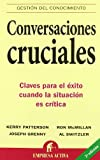 img - for Conversaciones cruciales (Spanish Edition) book / textbook / text book
