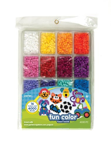 16 Bright Colors To Make Perler Fused Bead Projects - Perler Fused Beads Tray, Fun Color