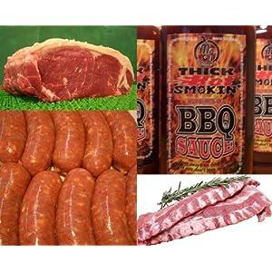 BBQ Aセット/バーベキューセットA 合計約2.5kg!!究極のバーベキュー肉 FS 【販売元:The Meat Guy(ザ・ミートガイ)】