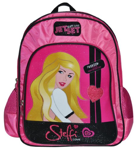 Simba Simba Steffi Love Jet Set Backpack, Multi Color (14-Inch) (Multicolor)