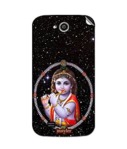 instyler MOBILE STICKER FOR MICROMAX CANVAS ELANZA A93