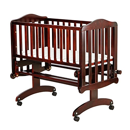 Dream On Me Lullaby Cradle Glider, Cherry