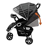 Harmony-Urban-Deluxe-Convenience-Stroller-Gala