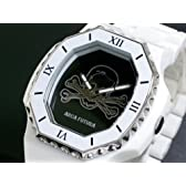 アルカフトゥーラ 腕時計 ドクロ SKSS-WH