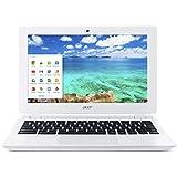 Acer Chromebook, 11.6-Inch, CB3-111-C670 (Intel Celeron, 2GB, 16GB SSD, White)