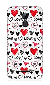 Coolpad Dazen Note 3 3Dimensional High Quality Printed Back Case