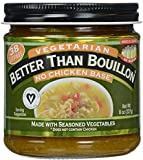 Better Than Bouillon Vegetarian No Chicken Base -- 8 oz
