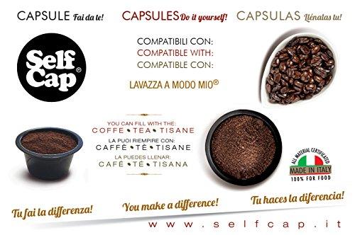 Find Lavazza A Modo Mio 100 Capsules Loadable Self Cap - SELF CAP