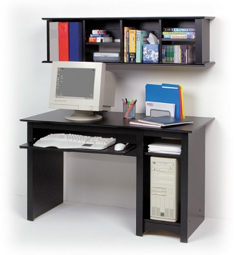 Buy Low Price Comfortable Sonoma Home Office Computer Desk in Black (B000WQX9VE)
