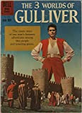 The 3 Worlds of Gulliver - Dell Four-Color Movie Classic Comic #1158-1960 - Kerwin Mathews photo cover - Ray Harryhausen Special Effects