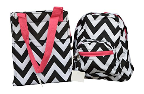 Small Size Backpack For Child and Matching Insulated Lunch Bag