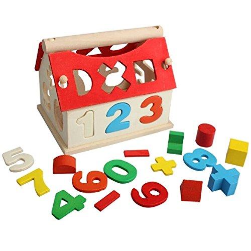 [BIGMET& Wooden Toy House Intellectual Souptoy Kid Building] (Six Million Dollar Man Costume)