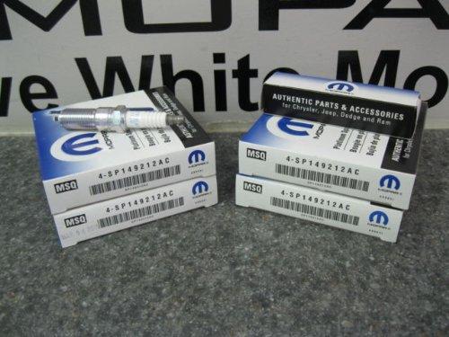 CHARGER CHALLENGER GRAND CHEROKEE 300 SRT8 6.4L HEMI SPARK PLUGS PLUG MOPAR OEM (Srt8 Spark Plugs compare prices)