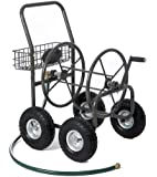 Liberty Garden Products 871-1 Residential Grade 4-Wheel Garden Hose Reel Cart with 250-Foot-Hose Capacity