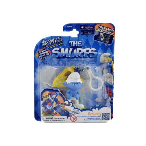 Swappz Smurfs Grouchy