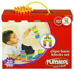 Hasbro Playskool Clipo Basic Blocks Set