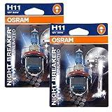 OSRAM - Night Breaker Unlimited H11 Halogen Bulbs Germany (Pair)
