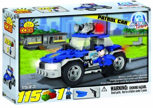 COBI Action Town Police Patrol Car, 115 Piece Set - 1